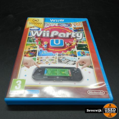 Wii Party U - Nintendo Wii U - In goede staat