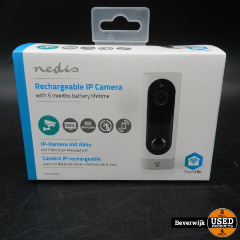 Nedis Rechargeable IP Smart Home Camera - NIEUW