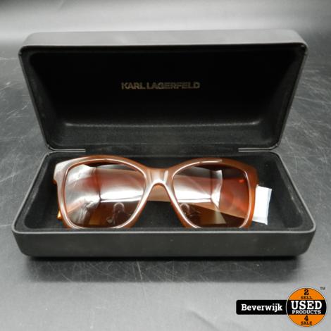 Karl Lagerfeld KL908S Zonnebril Bruin - In Zeer Nette Staat