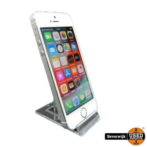 Apple iPhone 5S 16Gb Wit - In Goede Staat