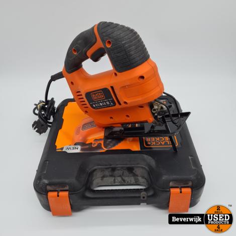 Black & Decker KS701E Type 1 520 Watt 70mm Decoupeerzaag in Koffer