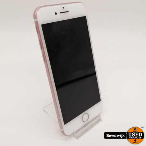 Apple iPhone 7 Rose Gold in Nette Staat