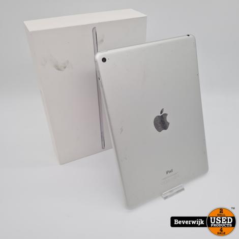 Apple iPad Air 2 Wi-Fi 16GB Silver - In Gebruikte Staat