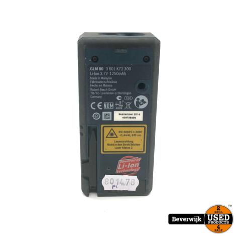 Bosch GLM 80 Laserafstandsmeter In Goede Staat