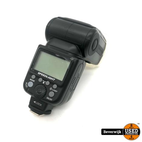 Tri0p0 Speed Light TR-950 Universele Handmatige Flitser - In Prima Staat