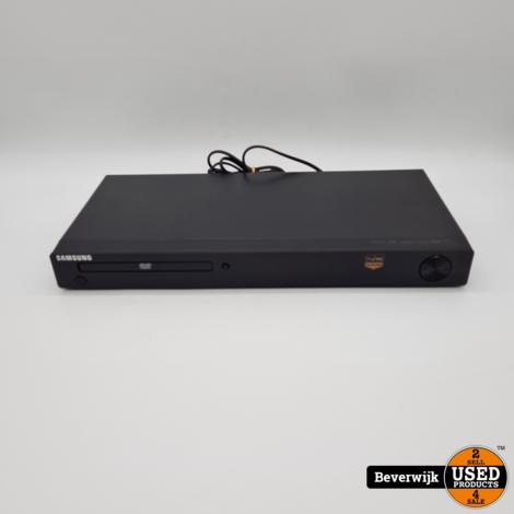 Samsung DVD-1080p8 DVD-Speler Zwart Exclusief Afstandsbediening