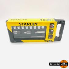 Stanley Stanley dopsleutelset 1 2 15-delig - NIEUW