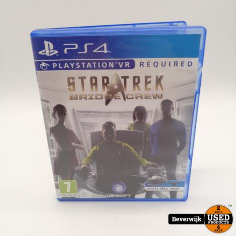 Startrek Brigde Crew PS4 Game - In Goede Staat
