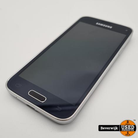 Samsung Galaxy S5 Mini 16GB Zwart - In Goede Staat