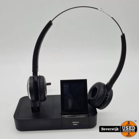 Jabra PRO 9460 Duo Hoofdtelefoon - In Nette Staat