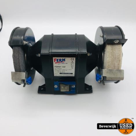 Ferm FSMW-150 Slijpmachine | 370 Watt | In goede staat
