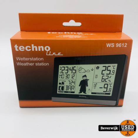 Techno-Line Weerstation Ws 9612 Radio Control Mannetje 868Mhz - NIEUW