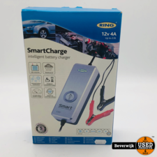 Ring Ring SmartCharge  Acculader  12V  4A  - Nieuw
