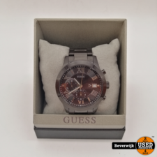 Guess Guess Atlas Chrono W0668G5 | Herenhorloge | In goede staat
