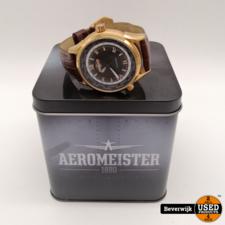 Aeromeister Aeromeister Tail Dragger Heren Horloge - In goede staat