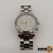 Michael Kors Michael Kors MK-1038 - Dames Horloge | Batterij is leeg | In gebruikte staat