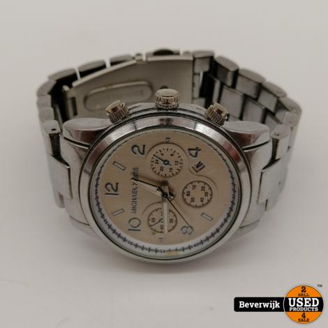 Michael Kors MK-1038 - Dames Horloge | Batterij is leeg | In gebruikte staat