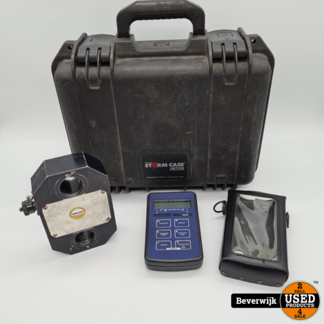 TR150 Portable Loadmeter + Load Cell + IM2100 Koffer