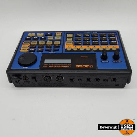 Boss J5-5 Jamstation Backing Machine with Audio Track