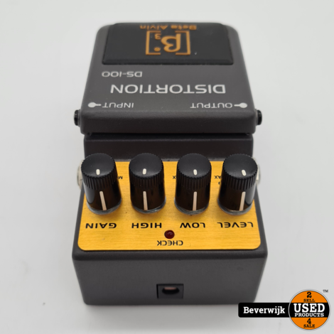 Beta-Aivin DISTORTION DS-100 Effect Pedal -  In Goede Staat