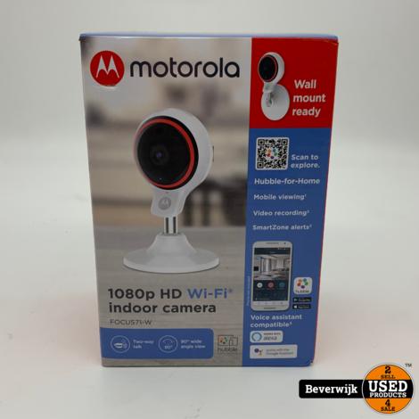 Motorola Focus 71 camera - indoor - full HD - draadloos - NIEUWSTAAT