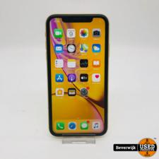 iphone iPhone XR 64GB Geel Accu 91% - In Prima Staat