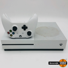 Microsoft Microsoft Xbox One S 1TB Wit - In Goede Staat