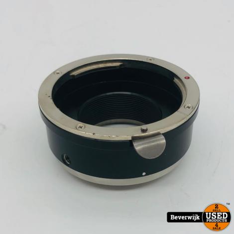 MTF Lensadapter Canon EF naar Sony E Mount - In Goede Staat