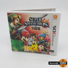 Nintendo Super Smash bros Nintendo 3DS Game - In Prima Staat