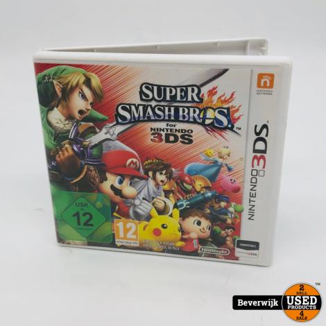 Super Smash bros Nintendo 3DS Game - In Prima Staat