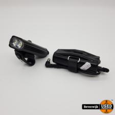 Lezyne Lezyne 1100i + Batterypack Fietslamp 1100 Lumen - In Goede Staat