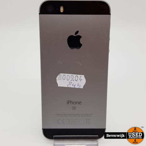 iPhone SE 32GB space Gray In Goede Staat