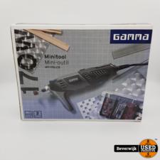 GAMMA GAMMA MT-170LCD Multitool koffer en 60 accessoires - Nieuw