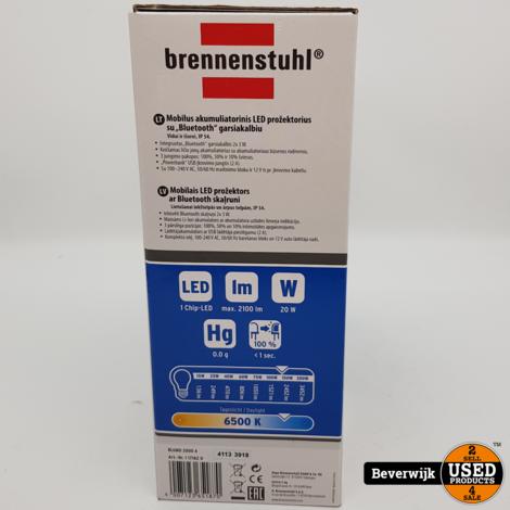 Brennenstuhl Blumo Mobilier Akku Led Strahler LED Floodlight - Nieuw!