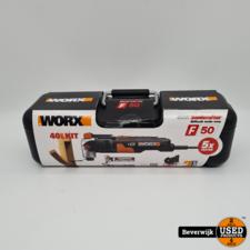 Worx Worx Multitool WX681 450 Watt Hyperlock 5x Faster - Nieuw