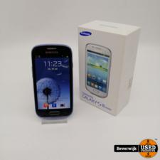 Samsung Samsung Galaxy S3 Mini 8 GB Blauw - In Goede Staat