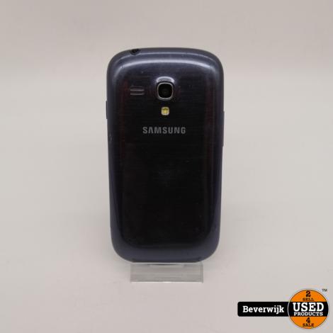 Samsung Galaxy S3 Mini 8 GB Blauw - In Goede Staat