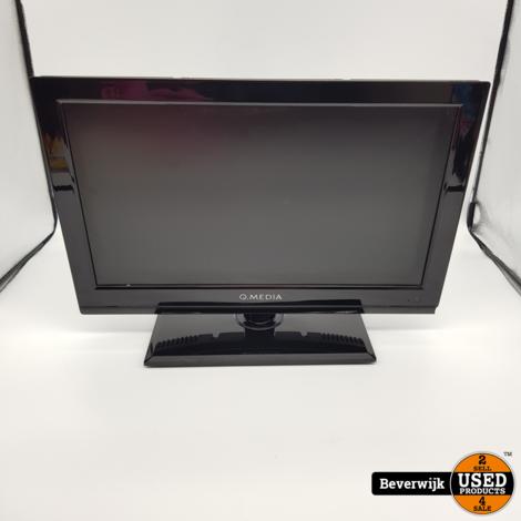 Qmedia QLE1978AHD-BS 18.5 Inch Televisie - In Goede Staat