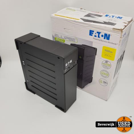 Eaton Ellipse Eco 500 IEC   Noodvoeding / UPS   In goede staat