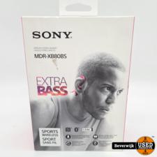Sony Sony MDR-XB80BS Rood Wireless Headset Nieuw + 2 Jaar Garantie!