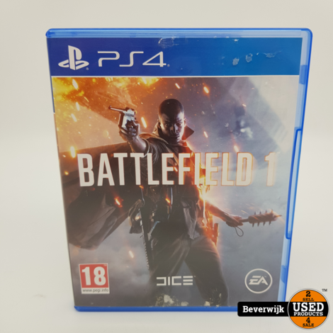 Battlefield 1 PS4 Game - In Prima Staat