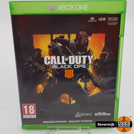Call of duty black ops IIII Xbox one Game - In Prima Staat