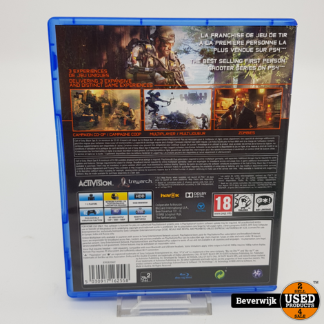 Call of Duty Black ops III Ps4 Game - In Prima Staat
