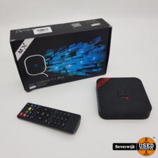 MX Q MX Q Media Streamer Zwart Incl Afstandsbediening - In Goede Staat