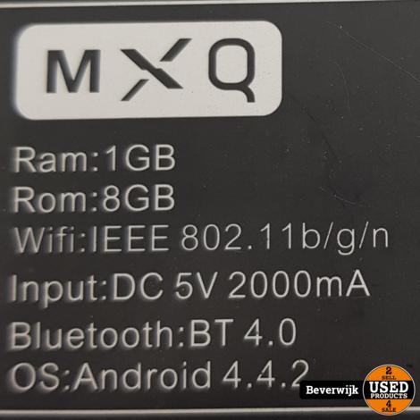 MX Q Media Streamer Zwart Incl Afstandsbediening - In Goede Staat
