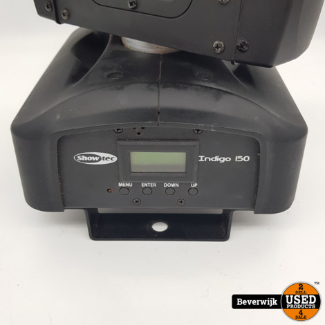 Showtec Indigo 150 Led Disco Lamp Moving Head - In Goede Staat