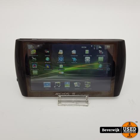 Archos 5 Internet Tablet Zwart 8 GB - In Goede Staat