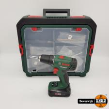 Bosch Bosch PSR 1800 Li-2 Compleet - Zo Goed Als Nieuw!