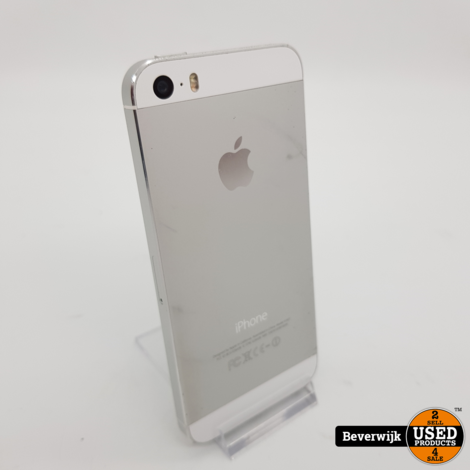 Apple iPhone 5S 16GB Zilver - In Goede Staat