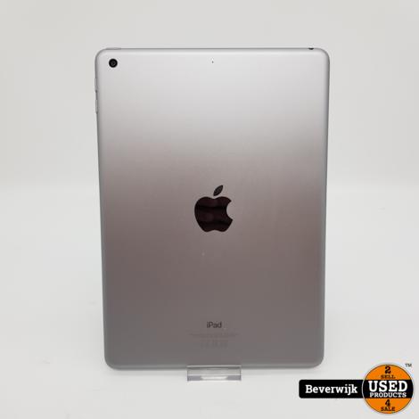 iPad 6e Generatie 32GB Space Gray - In Goede Staat